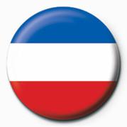 Posters Placka Flag - Sebia & Montenegro - Posters