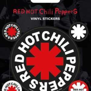 Posters Samolepka Red Hot Chili Peppers - Posters