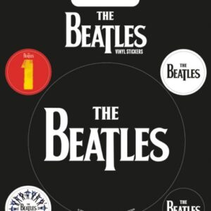 Posters Samolepka The Beatles - Black - Posters