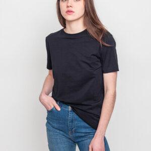 Tričko Jednobarevná Selected Perfect Black - Selected
