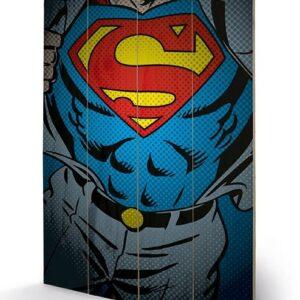Posters Obraz na dřevě - DC Comics - Superman Torso
