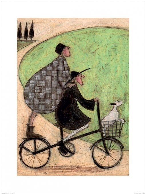 Posters Reprodukce Sam Toft - Double Decker Bike