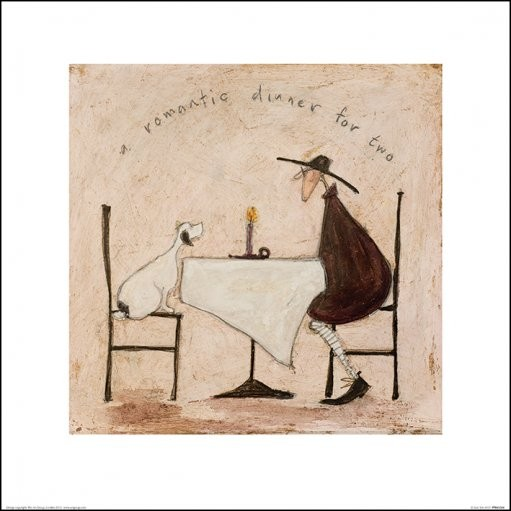 Posters Reprodukce Sam Toft - A Romantic Dinner For Two