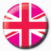 Posters Placka Union Jack (Pink) - Posters