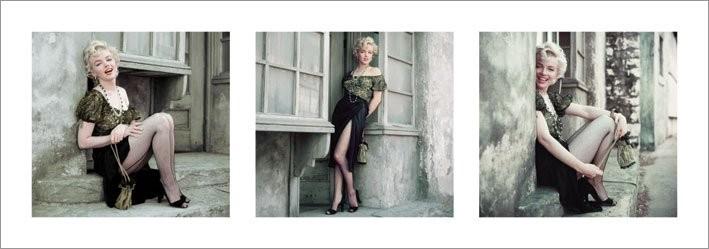 Posters Reprodukce Marilyn Monroe - The Parisian Series