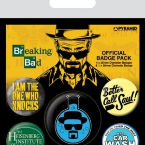 Posters Placka Breaking Bad (Perníkový táta) - Heisenberg Flask - Posters