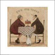 Posters Reprodukce Sam Toft - Tea for Three 3