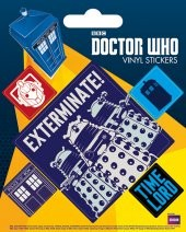 Posters Samolepka Doctor Who - Exterminate - Posters
