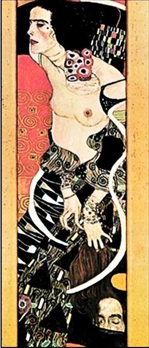 Posters Reprodukce Gustav Klimt - Judith II Salomé
