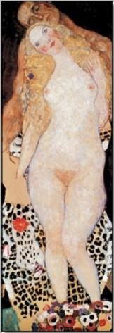 Posters Reprodukce Gustav Klimt - Adam a Eva