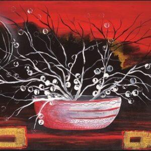 Posters Reprodukce Takira - Rosso oriente