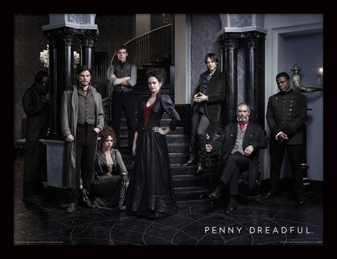 Posters Penny Dreadful - Group rám s plexisklem - Posters