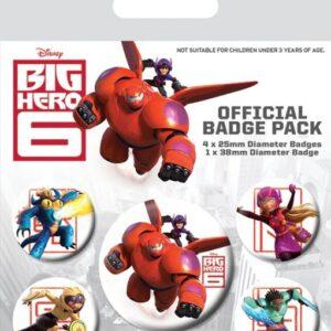 Posters Placka Velká šestka - Characters - Posters