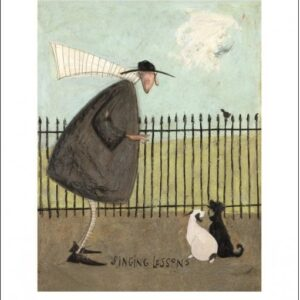 Posters Reprodukce Sam Toft - Singing Lessons