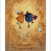 Posters Reprodukce Sam Toft - Carrying on Regardless