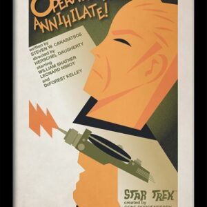 Posters Star Trek - Operation: Annihilate! rám s plexisklem - Posters