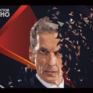 Posters Doctor Who - 12th Doctor Geometric rám s plexisklem - Posters