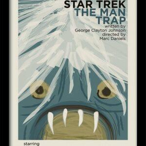 Posters Star Trek - The Man Trap rám s plexisklem - Posters