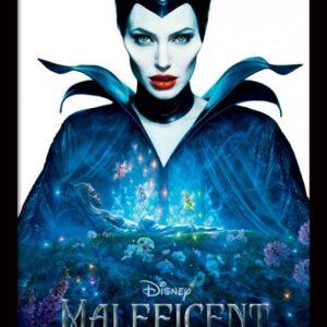 Posters Zloba: Královna černé magie - One Sheet rám s plexisklem - Posters
