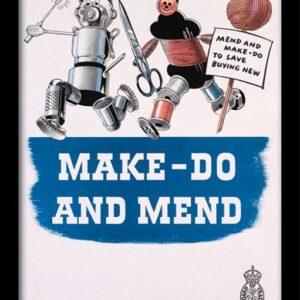 Posters IWM - Make Do & Mend rám s plexisklem - Posters
