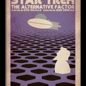 Posters Star Trek - The Alternative Factor rám s plexisklem - Posters