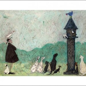 Posters Reprodukce Sam Toft - An Audience with Sweetheart