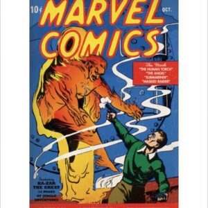Posters Reprodukce Human Torch
