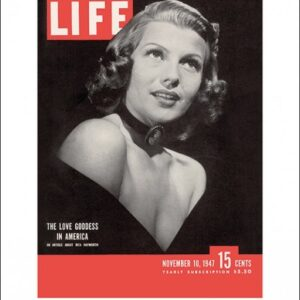 Posters Reprodukce Time Life - Life Cover - Rita Hayworth