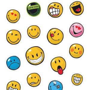 Posters Samolepka Smiley - Expressions (Shimmer) - Posters
