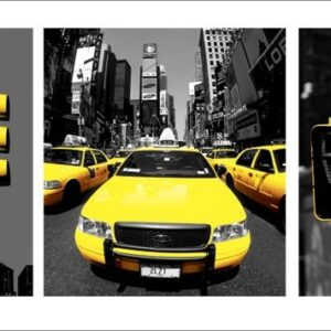 Posters Reprodukce New York - Yellow