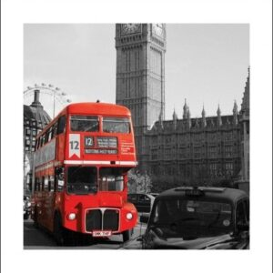 Posters Reprodukce Londýn - Westminster