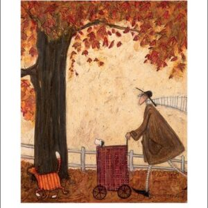 Posters Reprodukce Sam Toft - Following the Pumpkin