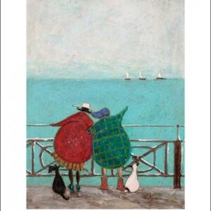 Posters Reprodukce Sam Toft - We Saw Three Ships Come Sailing By
