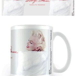 Posters Hrnek Marilyn Monroe - White Fur - Posters