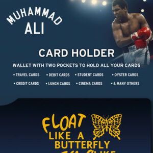 Posters Muhammed Ali - Float Pouzdro na karty - Posters