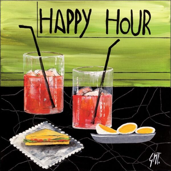Posters Reprodukce Maria Teresa Gianola - Šťastná hodinka (Happy Hour)