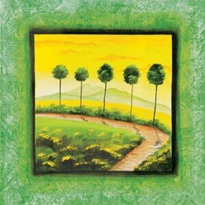 Posters Reprodukce Maria Teresa Gianola - Zelená cesta