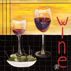 Posters Reprodukce Maria Teresa Gianola - Víno (Wine)