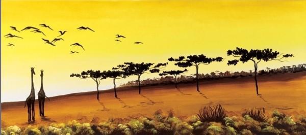 Posters Reprodukce Maria Teresa Gianola - Žirafy