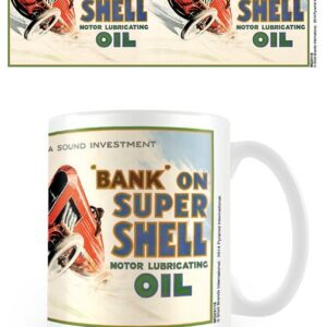 Posters Hrnek Shell - Bank On Shell - Posters