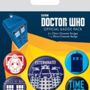 Posters Placka Doctor Who - Exterminate - Posters