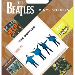 Posters Samolepka The Beatles - Help! - Posters