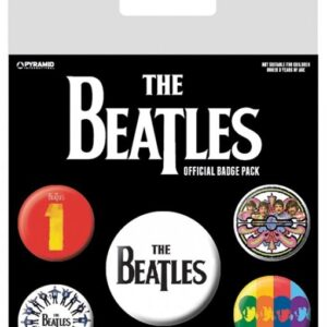 Posters Placka The Beatles - Black - Posters