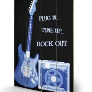Posters Obraz na dřevě - Rock Out
