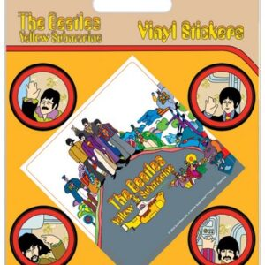 Posters Samolepka The Beatles - Yellow Submarine - Posters