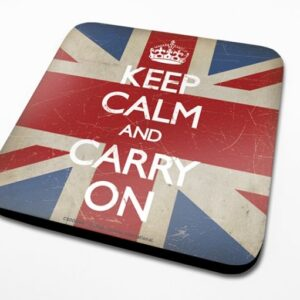 Posters Podtácek Keep Calm - Union Jack - Posters