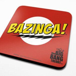 Posters Podtácek The Big Bang Theory (Teorie velkého třesku) - Bazinga Red - Posters