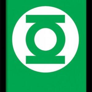 Posters DC Comics - The Green Lantern rám s plexisklem - Posters