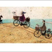 Posters Reprodukce Sam Toft - Electric Bike Ride