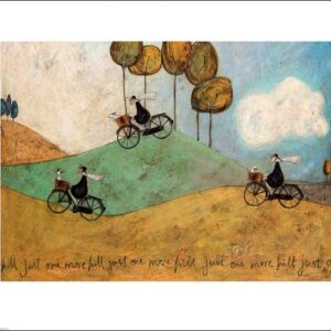 Posters Reprodukce Sam Toft - Just One More Hill